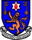 斯特兰米尔斯大学学院的校徽