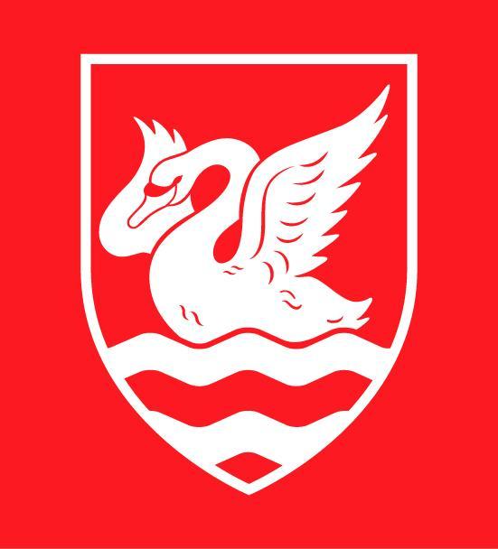 白金汉大学的校徽
