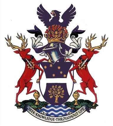 赫特福德大学的校徽